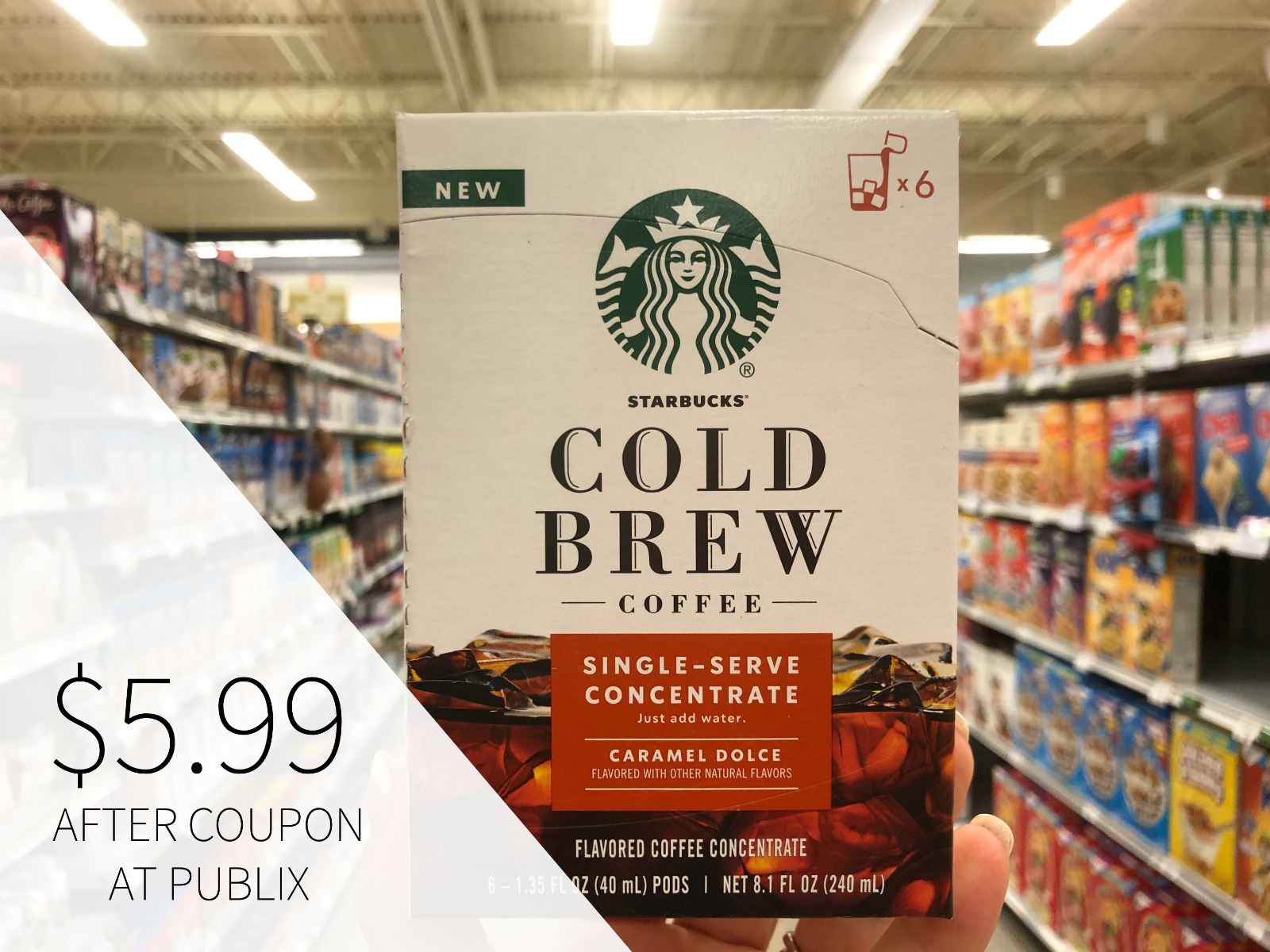 Enjoy The Refreshing Taste Of Starbucks Cold Brew Concentrates & Save Now At Publix on I Heart Publix 2