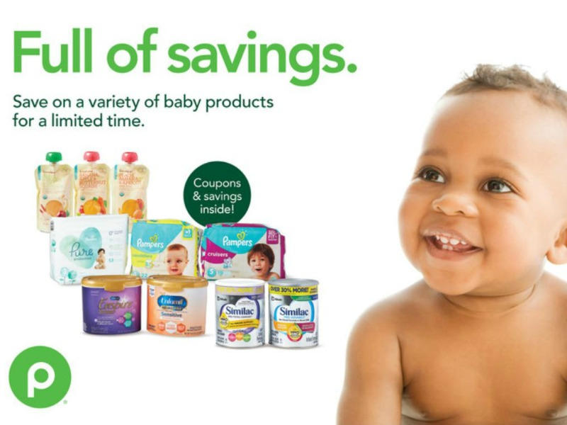 "New Baby Booklet - ""Happy Hearts. Happy Wallets."" Coupons Valid Through 2/26 on I Heart Publix 1"