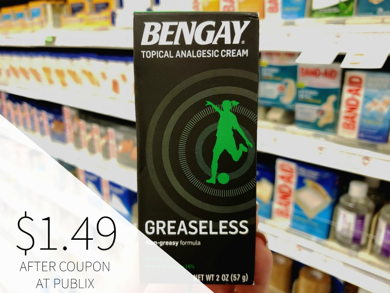 Get Bengay As Low As $1.49 At Publix on I Heart Publix
