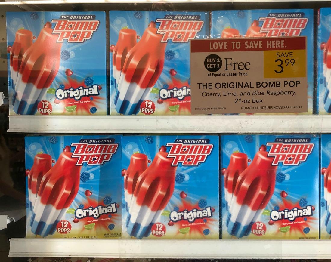 Bomb Pop Just $1.50 Per Box At Publix on I Heart Publix 1