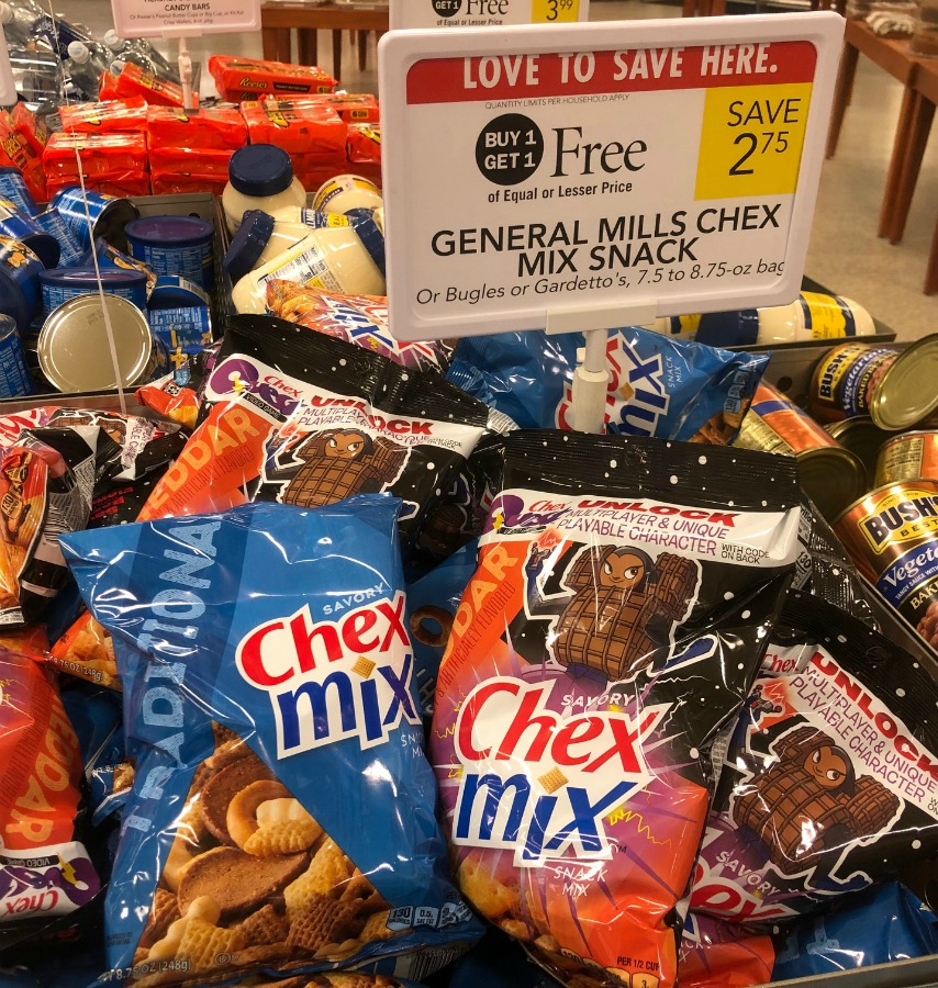 Chex Mix, Bugles Or Gardetto's Only $1.13 Per Bag At Publix on I Heart Publix