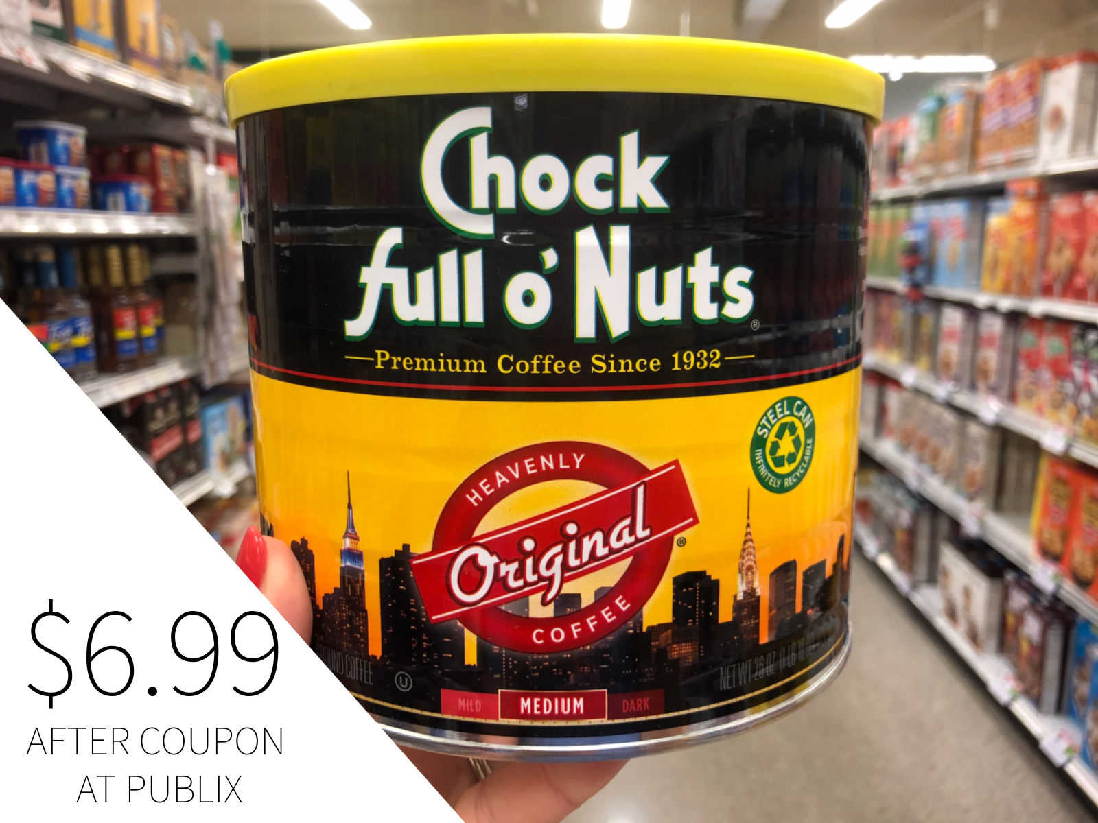 Save Big On Chock full o'Nuts® At Publix - $2 Coupon Valid Through 12/31 on I Heart Publix 5