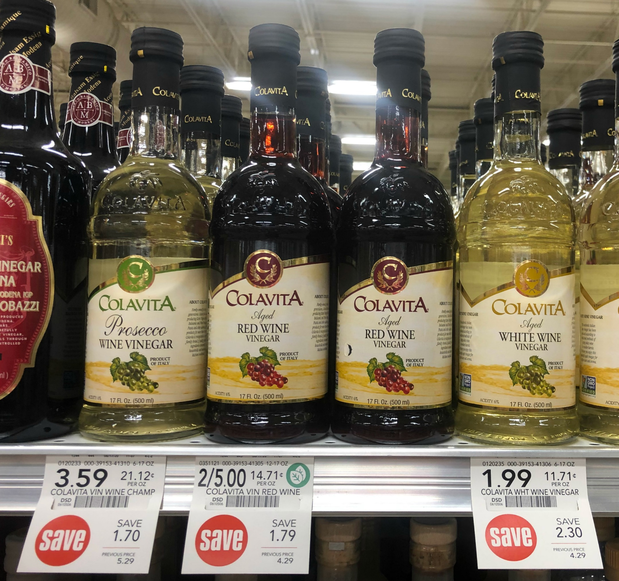 Super Cheap Colavita Vinegar At Publix - As Low As $1.99 on I Heart Publix
