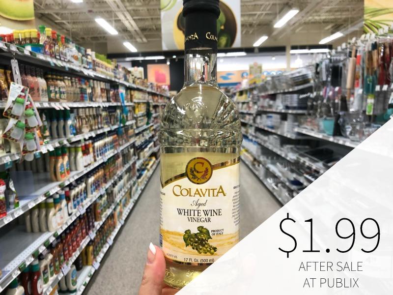 Super Cheap Colavita Vinegar At Publix - As Low As $1.99 on I Heart Publix 1