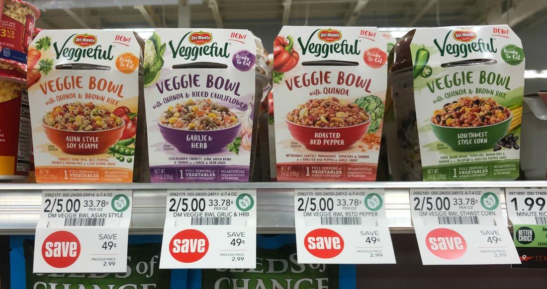 Del Monte Veggieful Veggie Bowls Only 75¢ At Publix on I Heart Publix 1