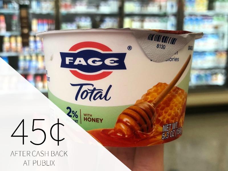Fage Total Yogurt Just 45¢ At Publix on I Heart Publix 1