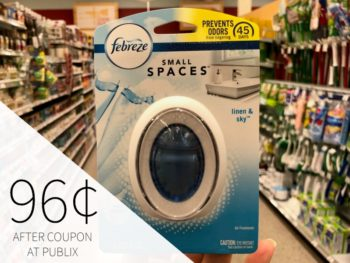 Febreze Small Spaces As Low As 96¢ At Publix on I Heart Publix 1