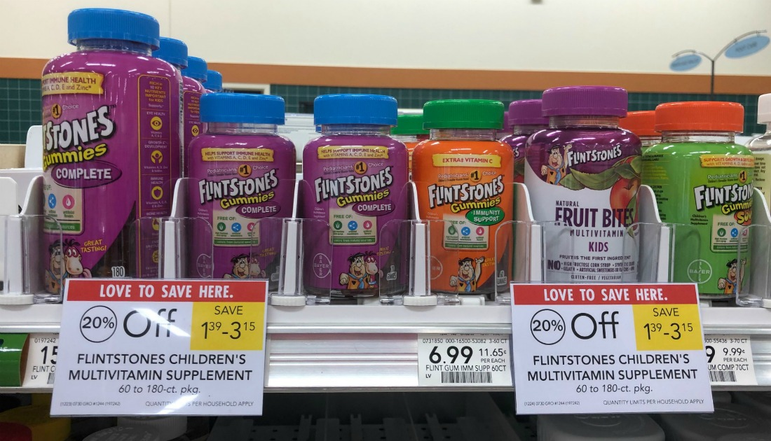 Flintstones Products As Low As $2.59 At Publix on I Heart Publix