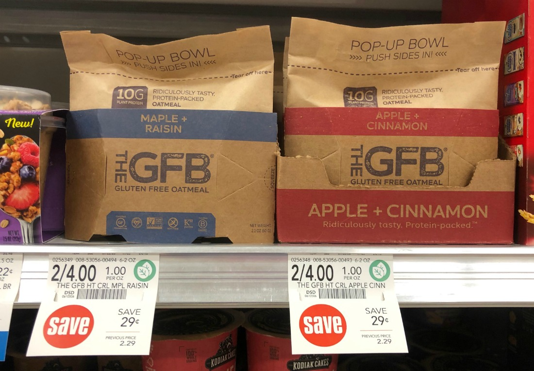 The GFB Gluten Free Oatmeal - Just $1 At Publix on I Heart Publix
