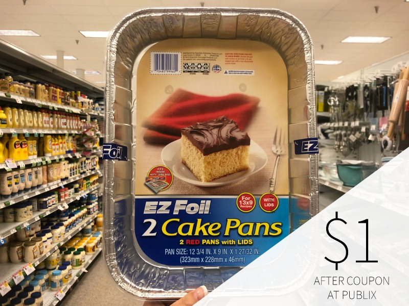Hefty EZ Foil Pans As Low As $1 At Publix on I Heart Publix