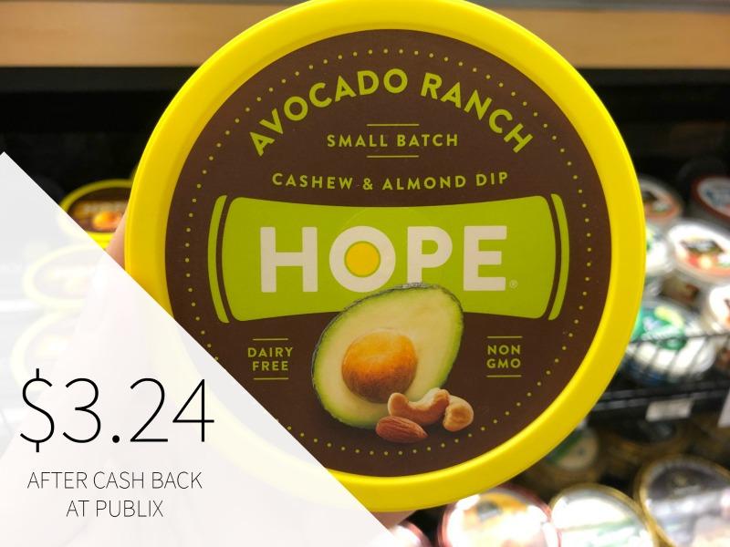 Hope Cashew & Almond Dip Just $3.74 At Publix on I Heart Publix 1