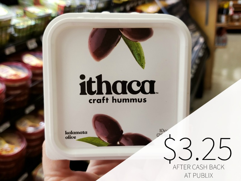 Ithaca Hummus As Low As $3.25 At Publix (Reg $4.99) on I Heart Publix