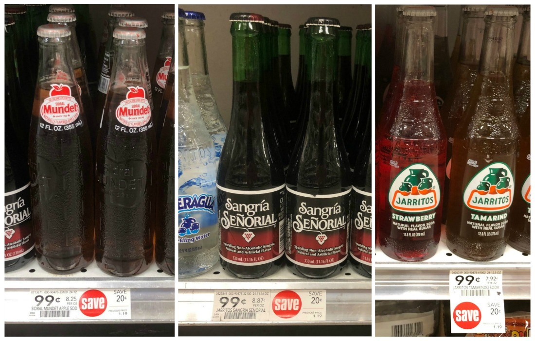 Sidral Mundet Apple Soda & Sangria Senorial Just 66¢ Per Bottle (Plus Cheap Jarritos Soda) on I Heart Publix