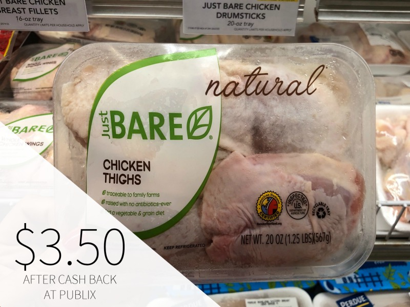 Just Bare Chicken Drumsticks or Thighs - Just $3.50 At Publix on I Heart Publix 1