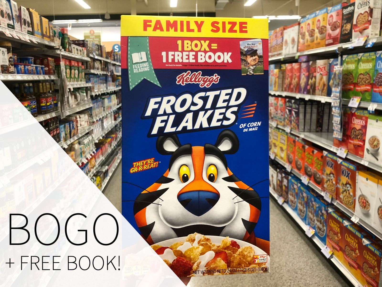 Get A Great Deal On Delicious Kellogg's Cereals & Get A Free Book With The Feeding Reading Program! on I Heart Publix 1