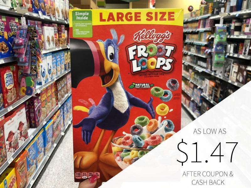 Big Boxes Of Kellogg's Froot Loops Just $1.89 At Publix on I Heart Publix