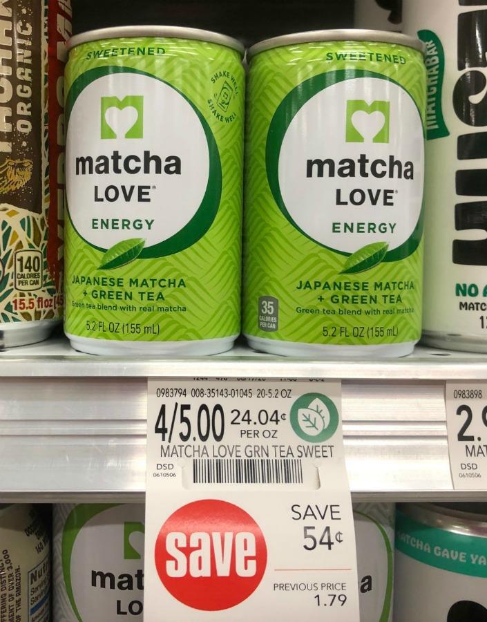 Matcha Love Energy Shots Just $ on I Heart Publix