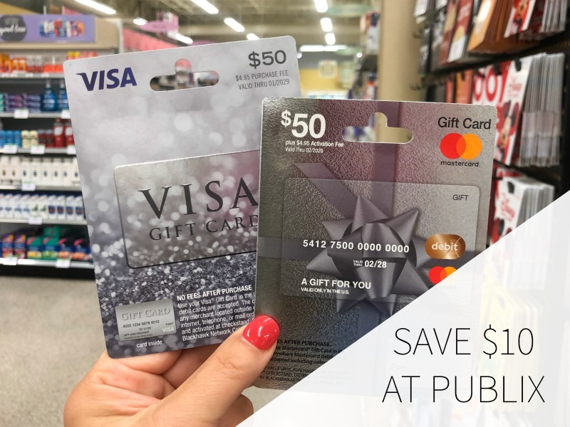 Save $10 At Publix When Your Purchase A Visa or Mastercard Gift Card on I Heart Publix 1