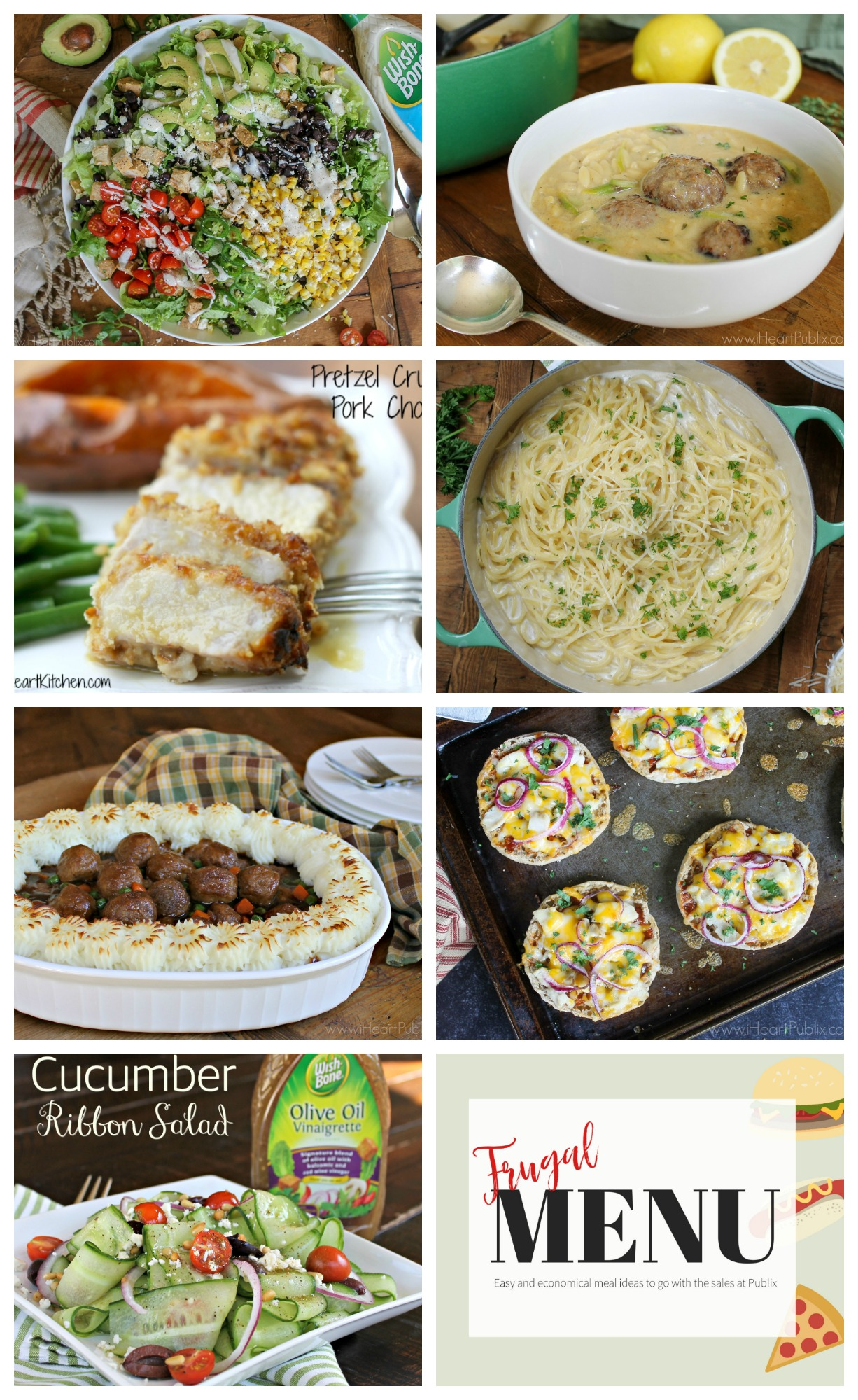 Frugal Family Menu For The Publix Sales Starting 7/2 – Seven Meals That Won't Break Your Budget on I Heart Publix 1