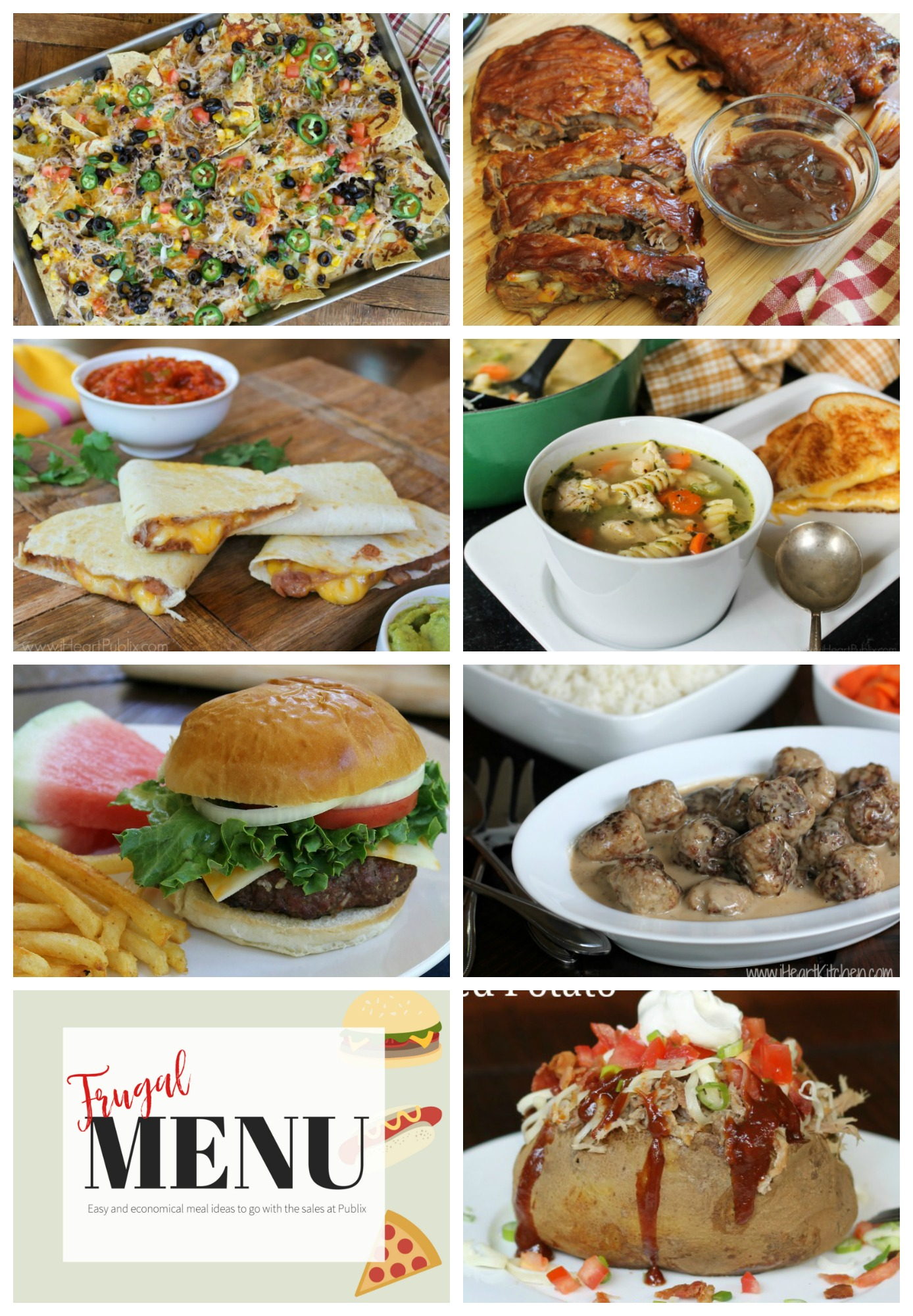 Frugal Family Menu For The Publix Sales Starting 7/2 – Seven Meals That Won't Break Your Budget on I Heart Publix
