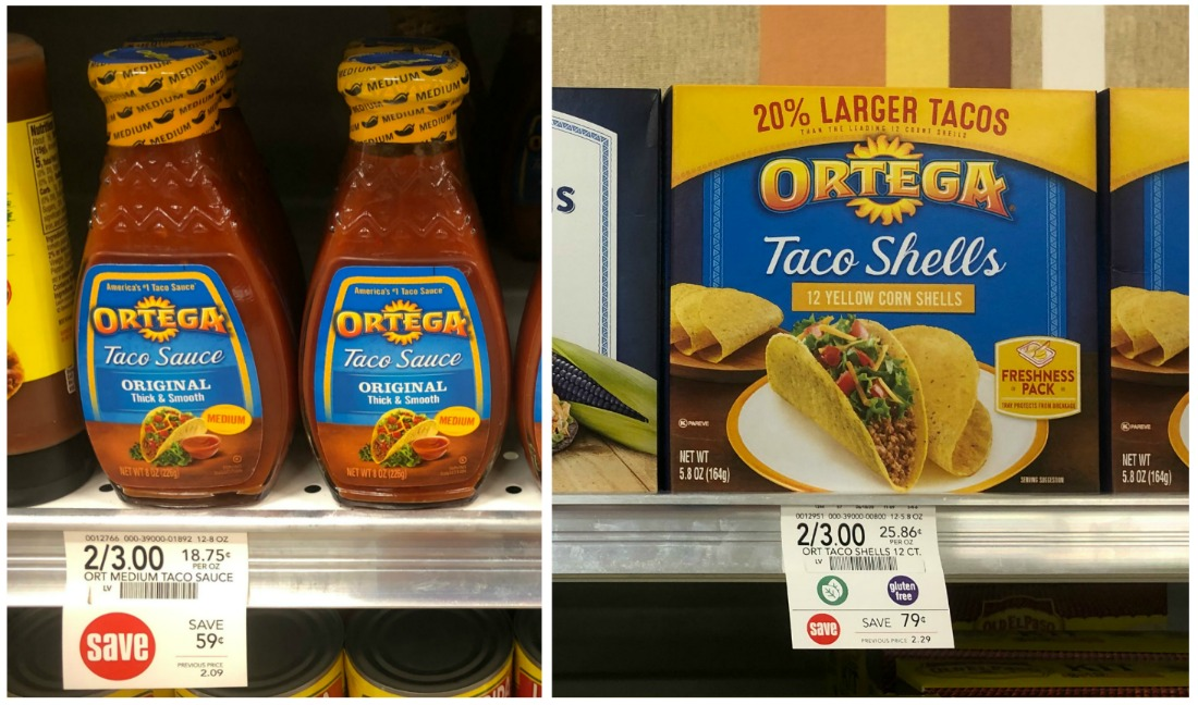 Ortega Products Only $1 At Publix - Stock Up For Taco Tuesday! on I Heart Publix
