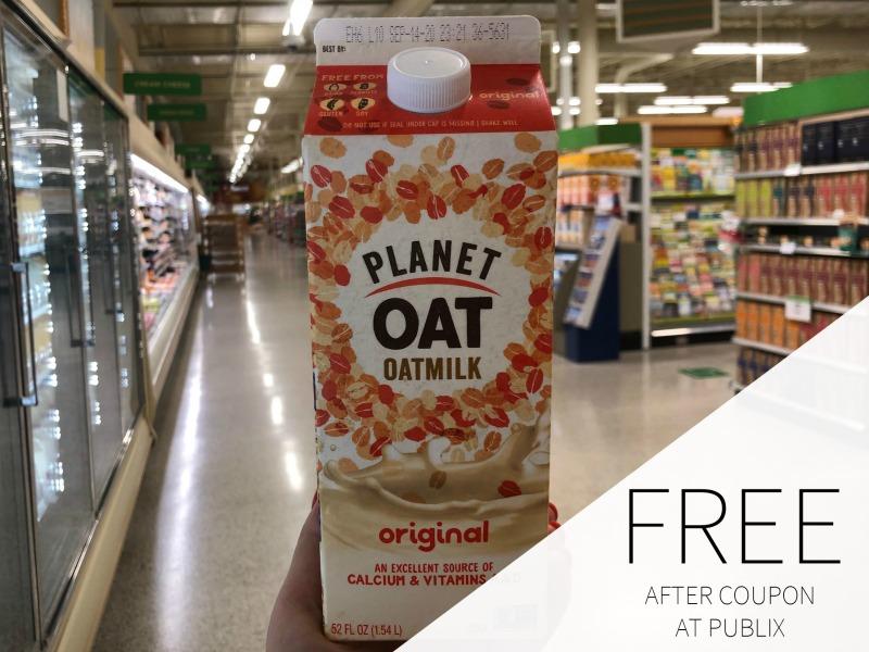 Planet Oat Oatmilk FREE At Publix on I Heart Publix 1