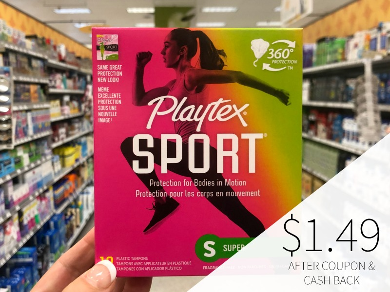 Playtex Sport Tampons Just $1.49 At Publix on I Heart Publix 3