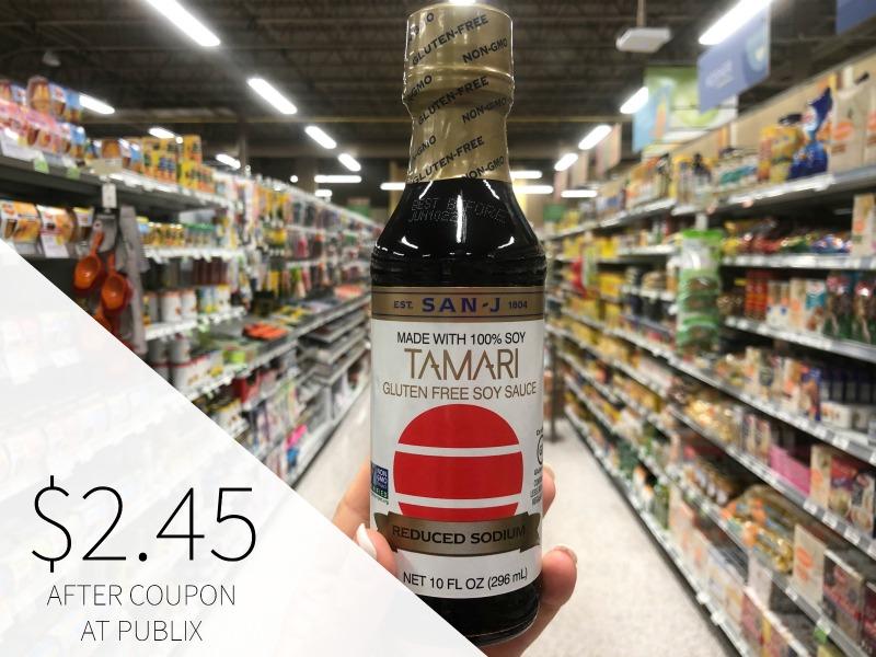 San J Tamari Reduced Sodium Soy Sauce Just $2.45 At Publix on I Heart Publix 1