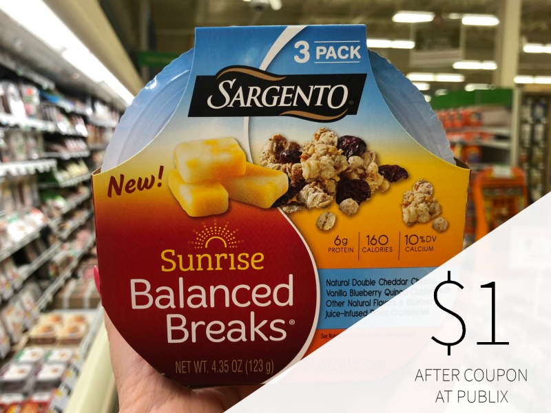 Sargento Balanced Breaks Snacks Just $1.50 At Publix on I Heart Publix 3