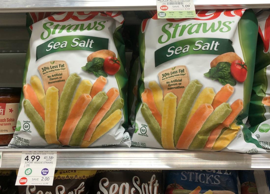Sensible Portions Veggie Straws Just $2 Per Bag At Publix on I Heart Publix