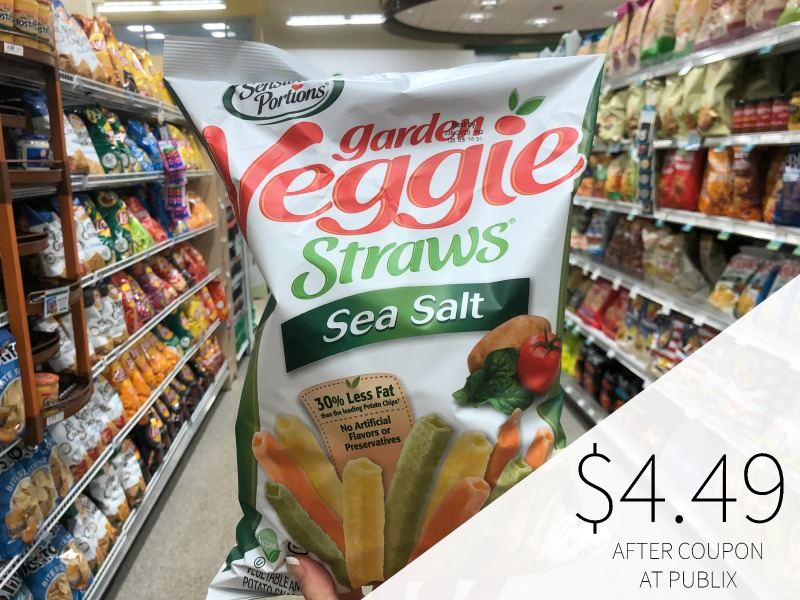Nice Deal On Big Bags Of Sensible Portions Veggie Straws At Publix (Save $2.50 Per Bag) on I Heart Publix