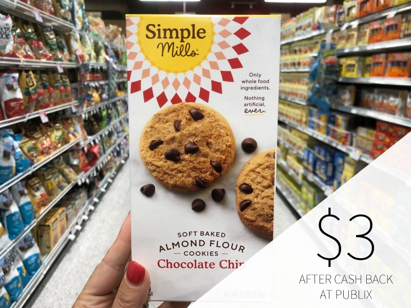 Simple Mills Cookies or Crackers Just $3 At Publix on I Heart Publix