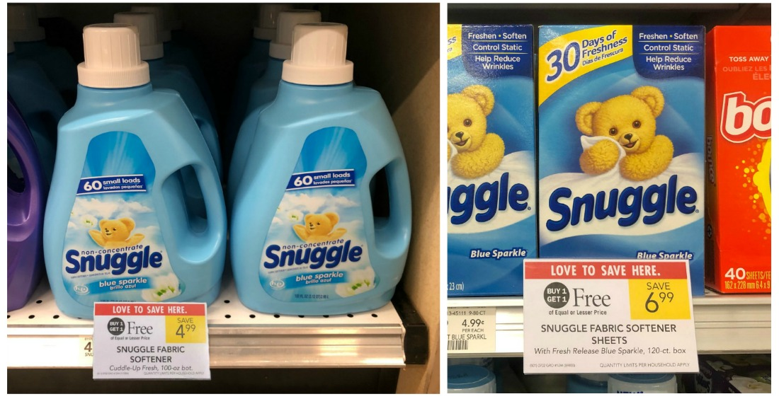 Snuggle Fabric Softener Just $2 on I Heart Publix 1