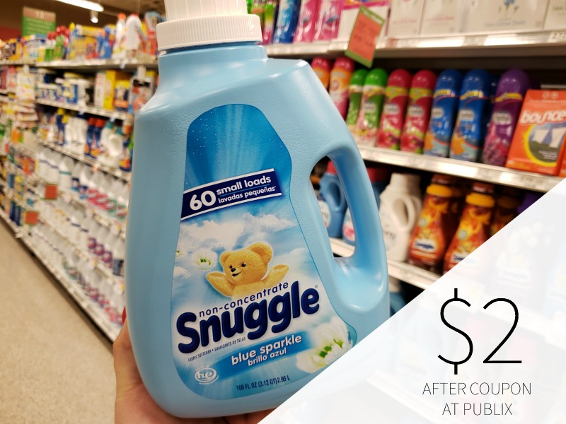 Snuggle Fabric Softener Just $2 on I Heart Publix