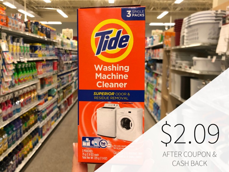 Tide Washing Machine Cleaner Just $4.09 At Publix on I Heart Publix 4