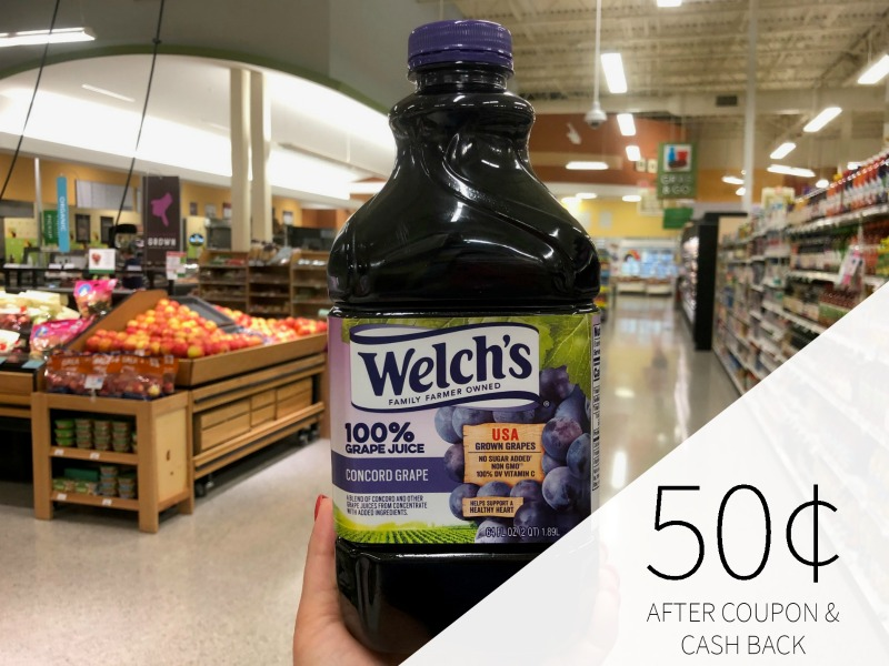 Welch's 100%Grape Juice As Low As 75¢ (Regular Price $4.09) on I Heart Publix