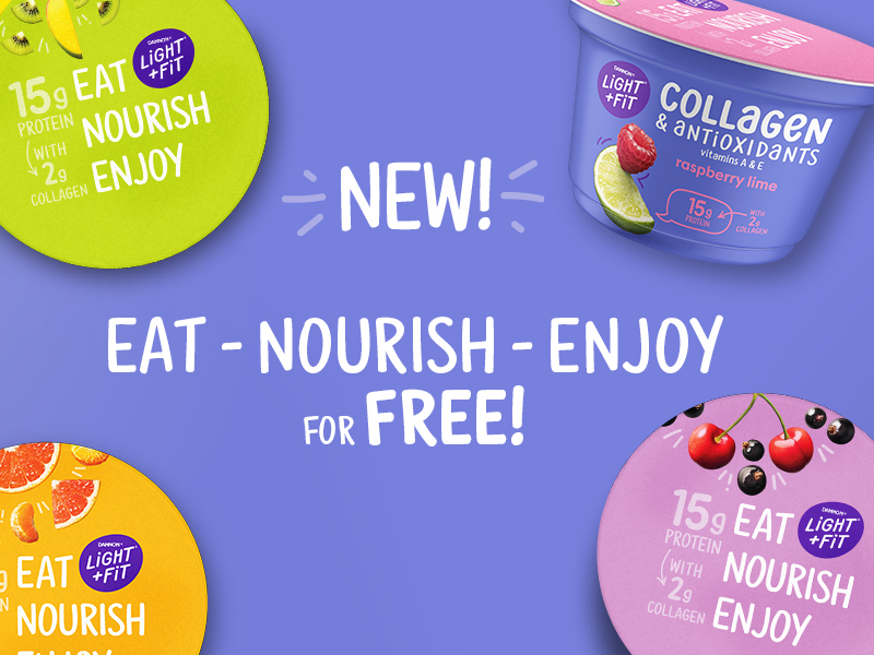 FREE Light & Fit® Collagen & Antioxidants Single Serve Yogurt At Publix! on I Heart Publix