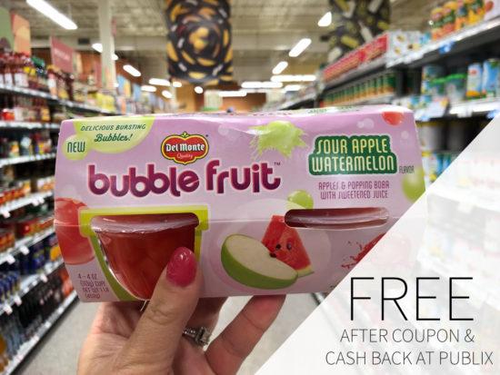 Del Monte Fruit As Low As 50¢ At Publix on I Heart Publix 1