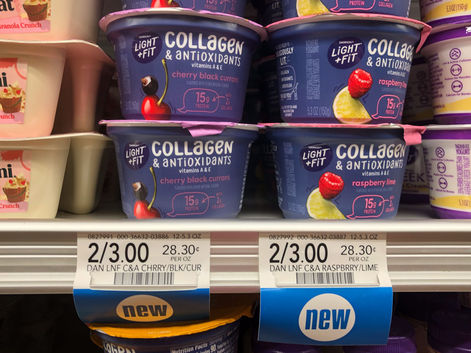 FREE Light & Fit® Collagen & Antioxidants Single Serve Yogurt At Publix! on I Heart Publix 1