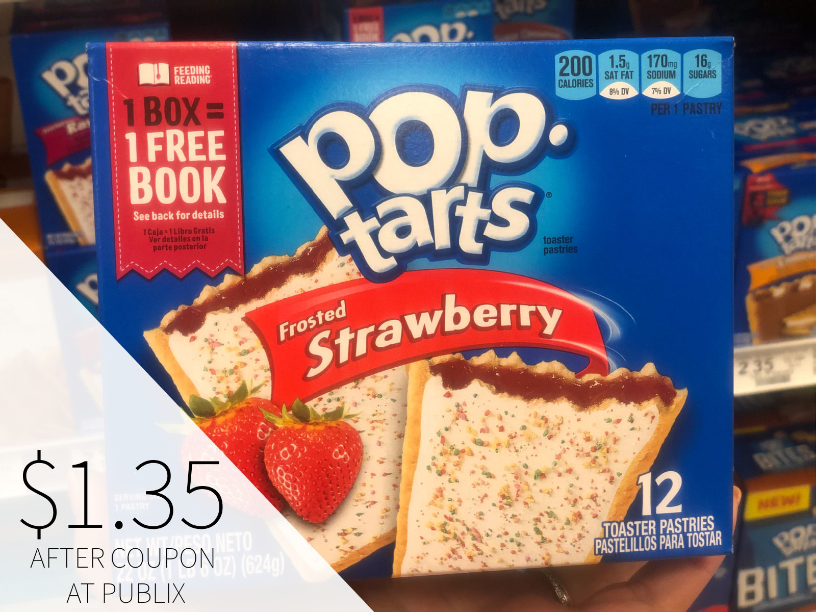 Fantastic Week To Score Free Books With The Kellogg's Feeding Reading Program - Lots Of BOGO Sales At Publix! on I Heart Publix