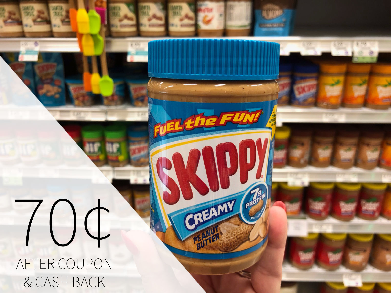 Skippy Peanut Butter Just $1.05 At Publix on I Heart Publix