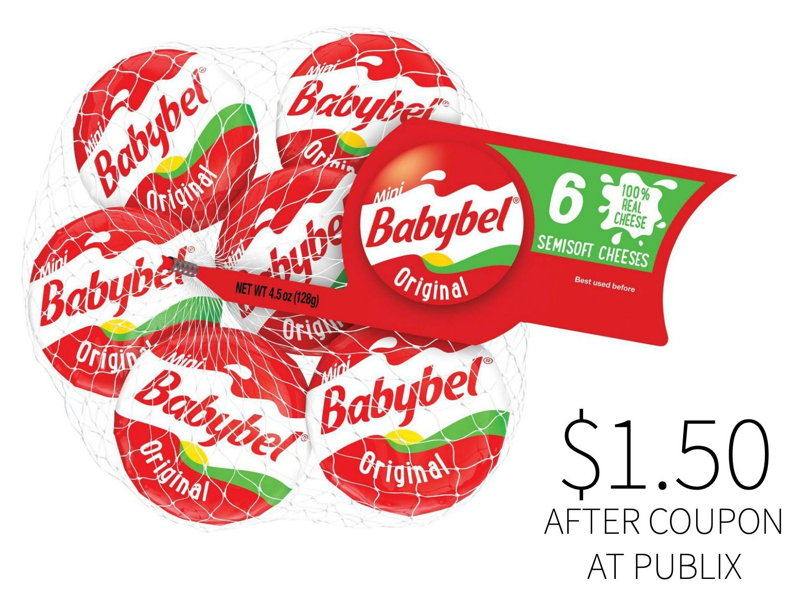 The Laughing Cow Mini Babybel Cheese Just $1.50 At Publix on I Heart Publix