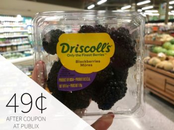 Driscoll's Blackberries Only 49¢ At Publix on I Heart Publix 3