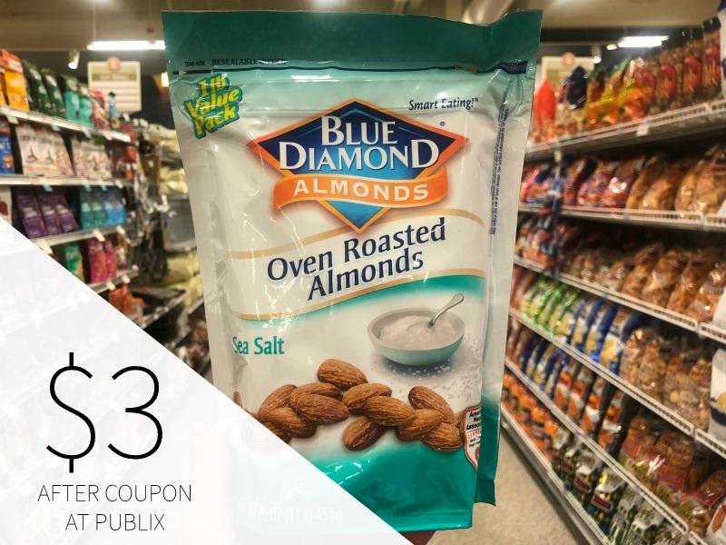 Blue Diamond Almonds Just $3 At Publix (reg $8.99) on I Heart Publix 1