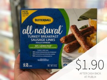 Butterball Frozen Sausage As Low As $1.90 At Publix on I Heart Publix