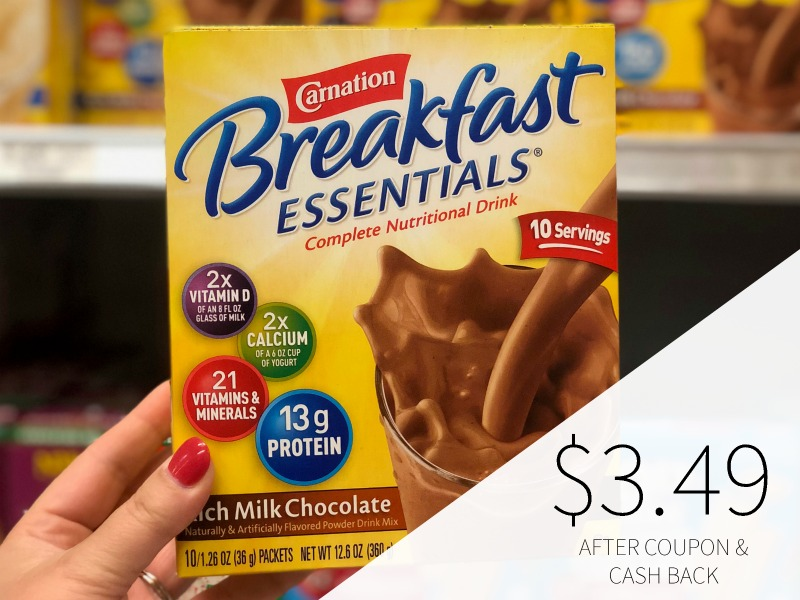 New Carnation Breakfast Essentials Coupons & Ibotta - As Low As $3.49 At Publix on I Heart Publix
