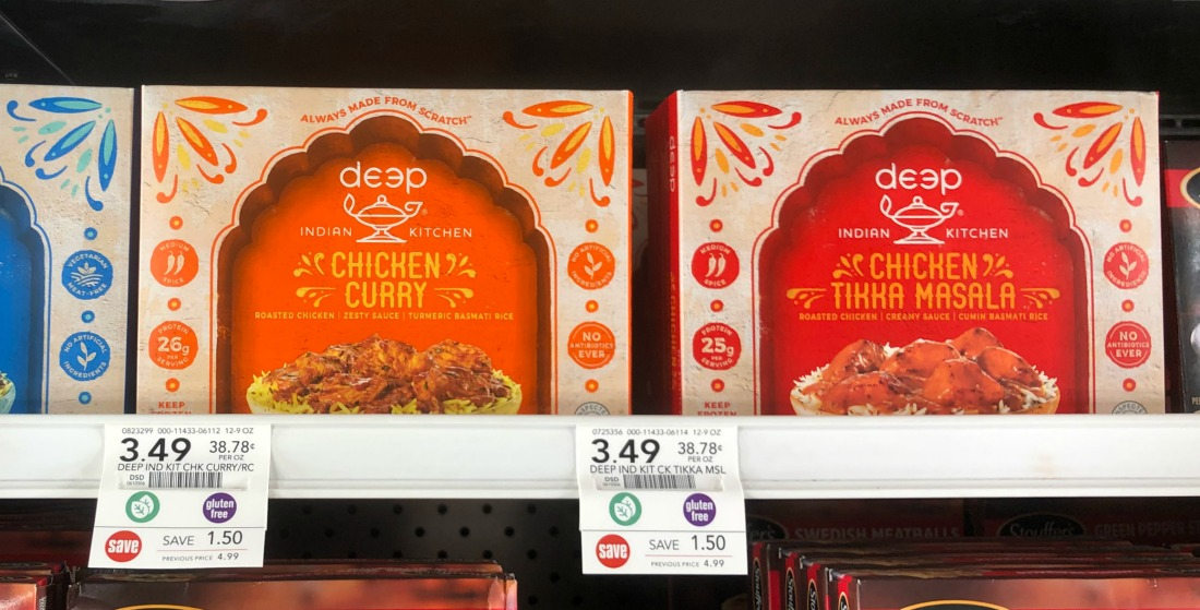 Deep Indian Kitchen Frozen Meals As Low As $3.12 on I Heart Publix