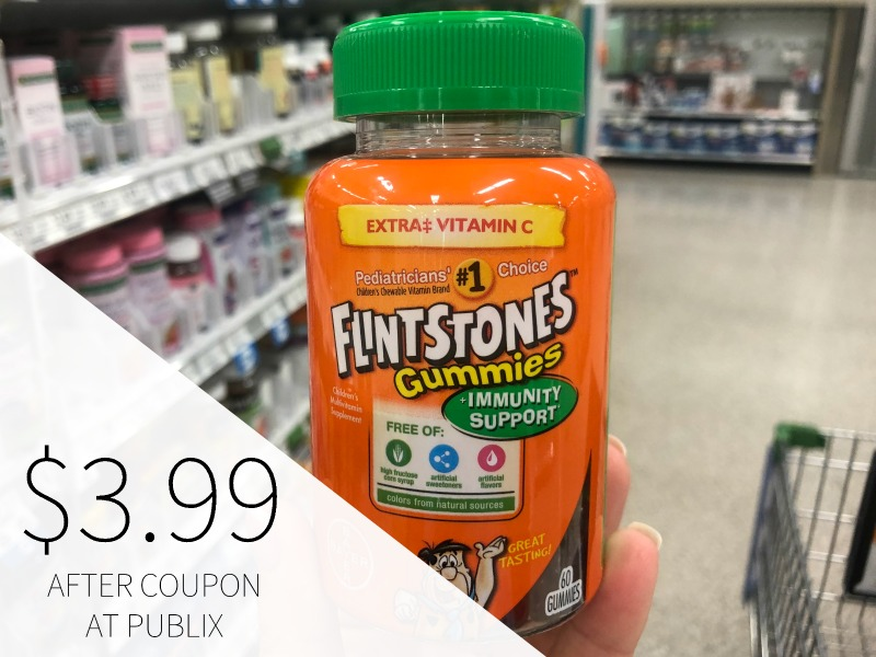 New Flintstones Coupon - As Low As $3.99 At Publix on I Heart Publix 1