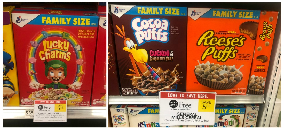 BIG Boxes of General Mills Cereal As Low As $2.18 At Publix on I Heart Publix
