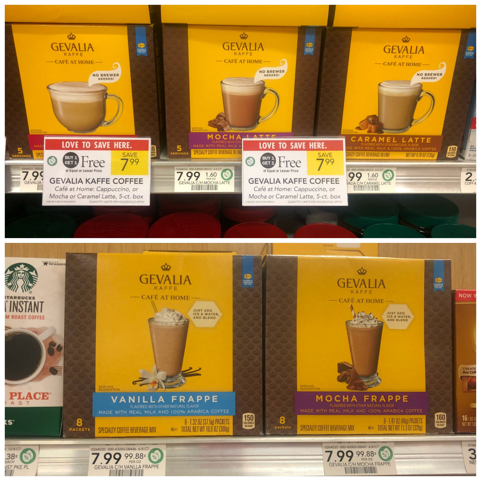 Gevalia Café at Home And Gevalia Frappe Products Are BOGO At Publix - Great Taste No Brewer Required! on I Heart Publix 1